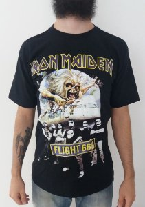 Camiseta Iron Maiden - Flight 666