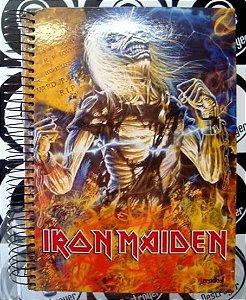 Caderno Escolar Iron Maiden - Live after death