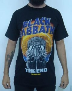 Camiseta Black Sabbath - The End - The final Tour