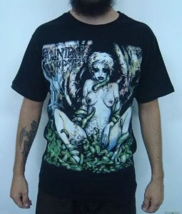 Camiseta Cannibal Corpse - Worm Infested