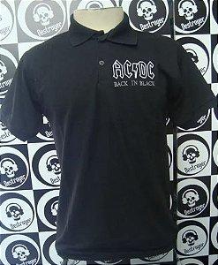 Camiseta AC DC - Back in Black