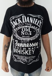 Camiseta Jack Daniels Clássica