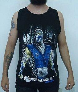 Camiseta regata Mortal Kombat - Sub-zero