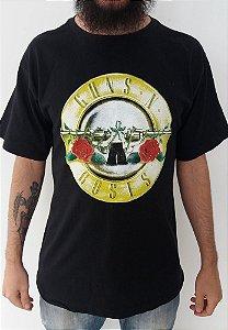Camiseta Guns and Roses - Símbolo Clássica