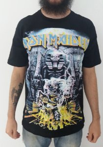 Camiseta Iron Maiden - Somewhere back in time