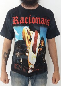 Camiseta mesclada - Racionais - Vida Loka