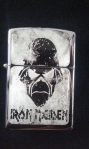 Isqueiro - Iron Maiden - Eddie
