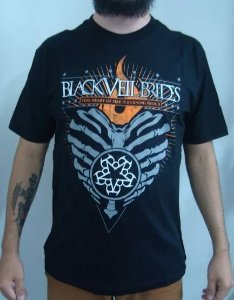 Camiseta Black Veil Brides - This heart of Fire...is burning proud