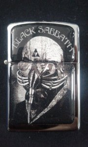 Isqueiro - Black Sabbath - Never Say Die