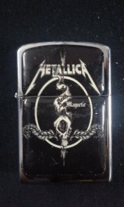Isqueiro - Metallica - Death Magnetic