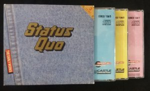 3 CD Box Set - Status Quo - The Early Works