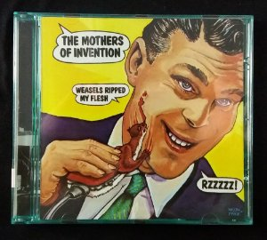 CD Frank Zappa / Mothers of Invention - Weasels ripped my flesh