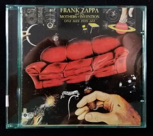 CD Frank Zappa and The Mothers - One Size Fits All