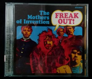 CD Frank Zappa and The Mothers - Freak out