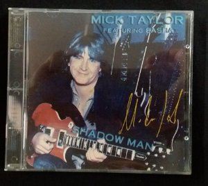 CD Mick Taylor Feat Sasha - Shadow Man