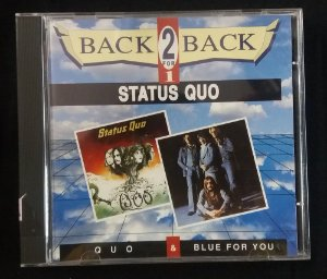 CD Status Quo - Quo + Blue for You - 2 em 1 - Importado