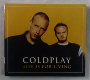 CD Coldplay - Life is for Living