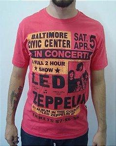 Camiseta Led Zeppelin - In Concert
