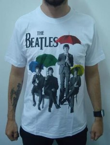 Camiseta The Beatles - Guarda Chuvas