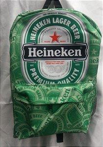 Mochila Escolar - Heineken