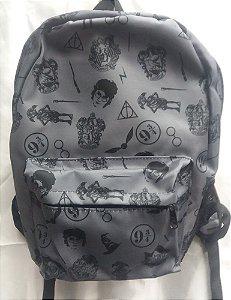 Mochila Escolar - Harry Potter - Símbolos