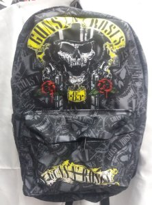 Mochila Escolar - Guns and Roses - Skull
