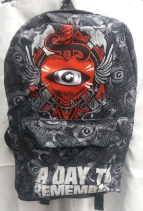 Mochila Escolar - A day to Remember