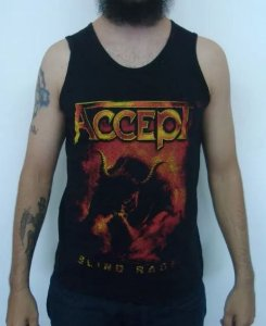 Camiseta regata - Accept - Blind Rage