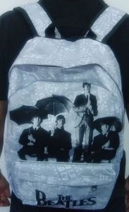 Mochila Escolar - The Beatles