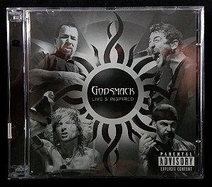 CD Godsmack - Live & inspired - Duplo