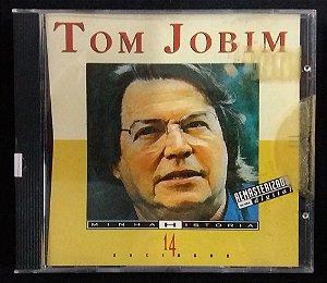 CD Tom Jobim - Minha História - 14 sucessos