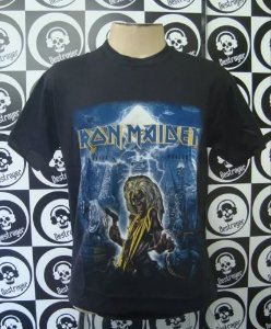 Camiseta Iron Maiden - Somewhere back in time + Killers