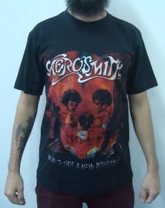 Camiseta Aerosmith - Devil's got a new desguise