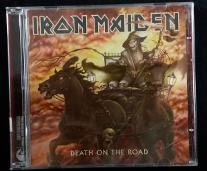 CD Iron Maiden - Death on the Road - Duplo
