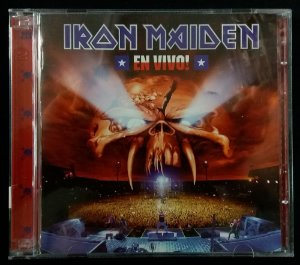 CD Iron Maiden - En Vivo! - Duplo