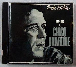 CD Chico Buarque - Minha história - O melhor de Chico Buarque