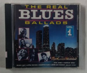 CD The Real Blues ballads Volume 1