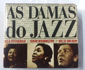 CD - As Damas do Jazz - Ella Dinah Billie