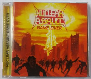 CD Nuclear Assault - Game Over