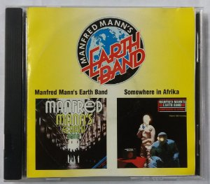 CD Manfred Mann's Earth Band - 2 em 1 - Somewhere in Afrika + Manfred Mann's Earth Band IMPORTADO