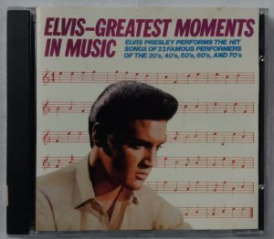 CD Elvis Presley - Greatest Moments in Music - Importado