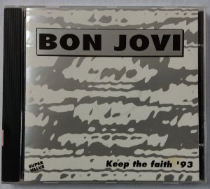 CD Bon Jovi - Keep the Faith '93 - Importado