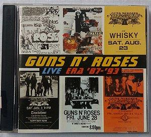 CD Guns And Roses - Live Era 1987 - 1993 - Duplo