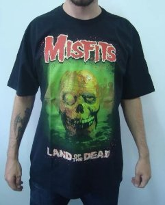 Camiseta The Mistifs - Land of the Dead