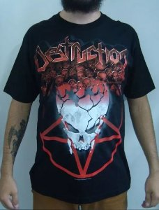 Camiseta Destruction - 666% German Fuckin Thrash Metal