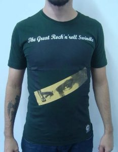 Camiseta Sex Pistols - The Great RocknRoll Swindle - Sid Vicious