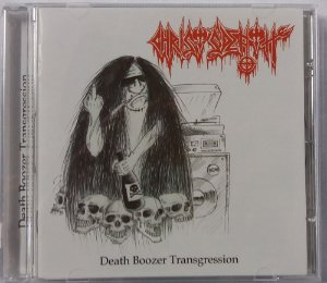 CD Christ's Death - Death Boozer Transgression