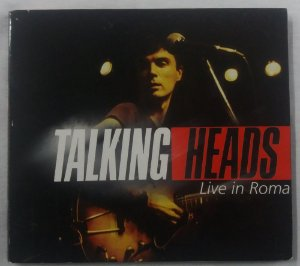 CD Talking Heads - Live in Roma