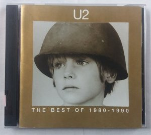 CD U2 -The Best of 1980-1990 - Duplo