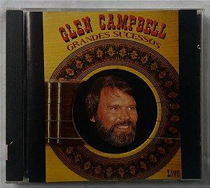 CD Glen Campbell - Grandes Sucessos - Live